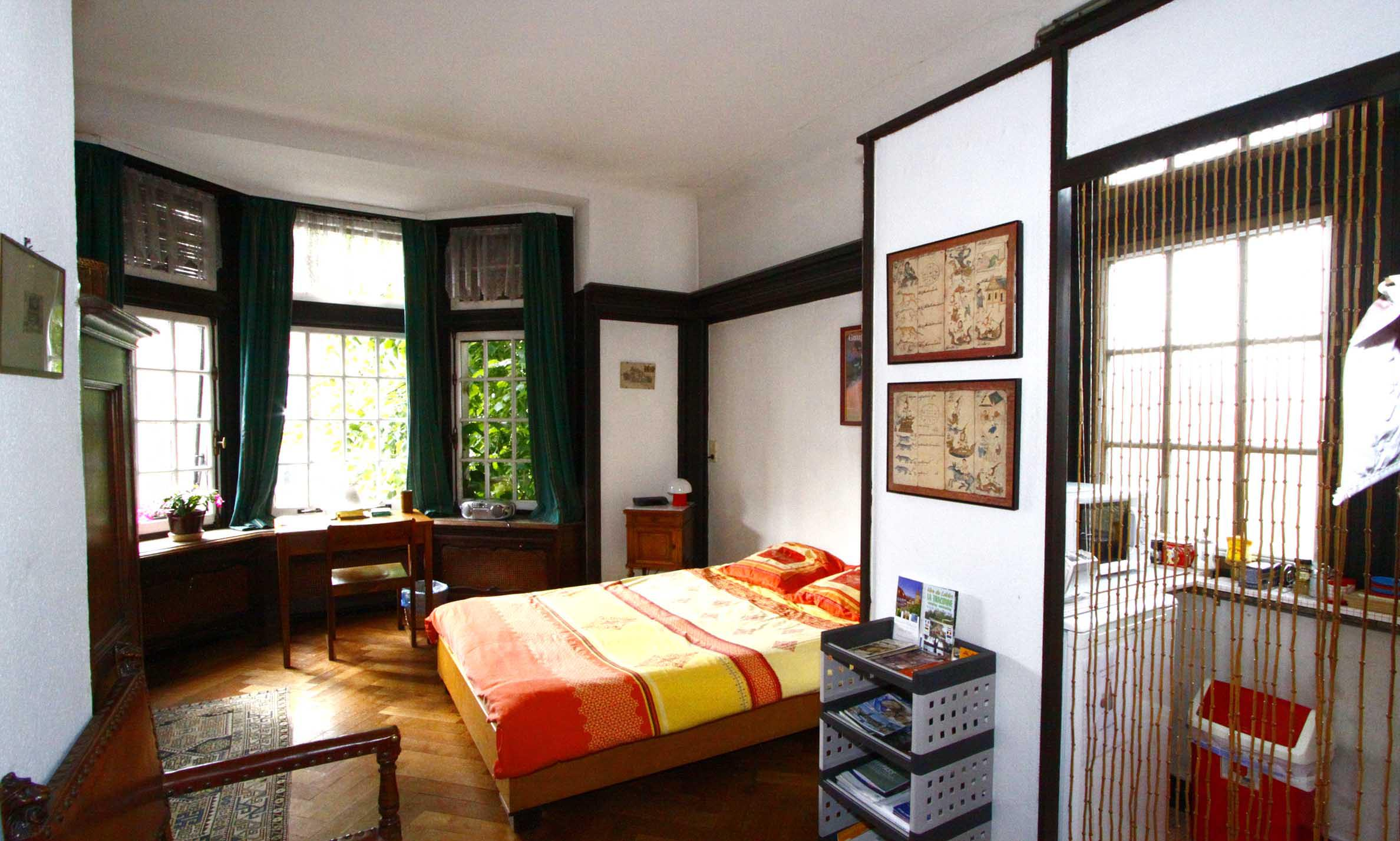 Chambres bed breakfast chambre d 39 h te du bois bruxelles for Appartement 1 chambre